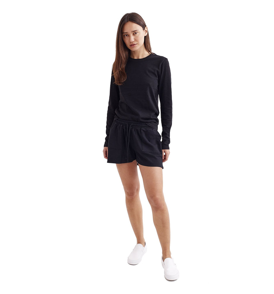 Micro Terry Short | Black