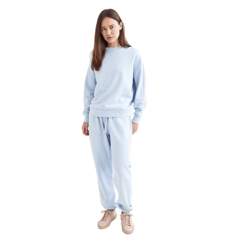 Loop Terry Oversized Sweatpant | Cool Blue