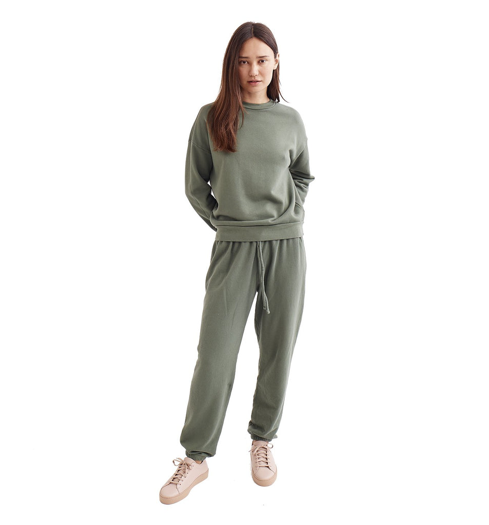 Loop Terry Oversized Sweatpant | Laurel