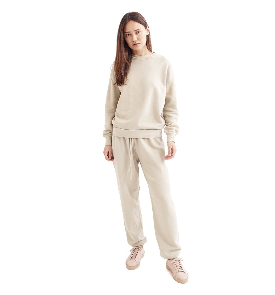 Loop Terry Oversized Sweatpant | Pelican