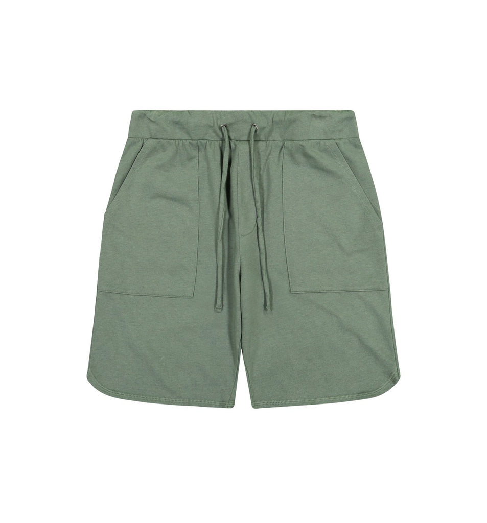 Overdyed Micro Terry Scallop Short | Laurel