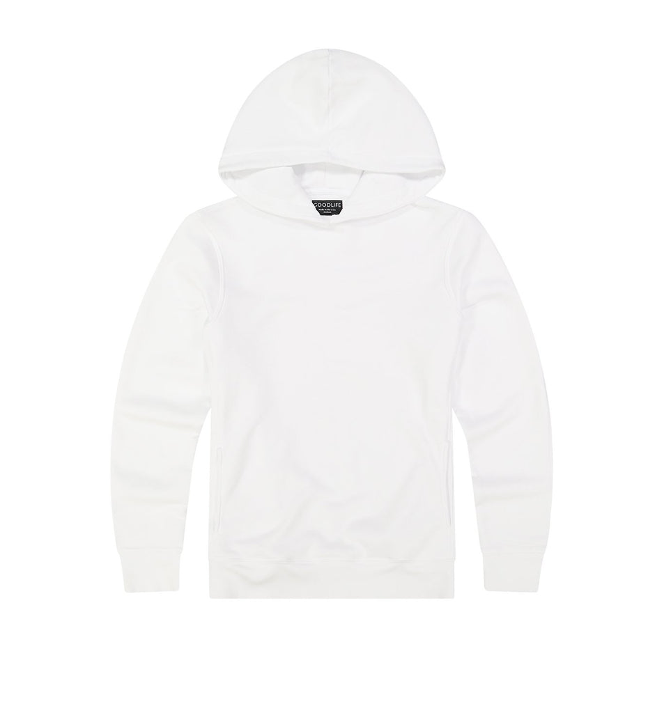 Loop Terry Hoody | White