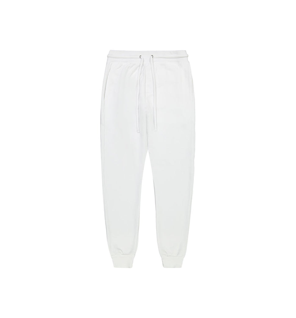 Loop Terry Jogger | White