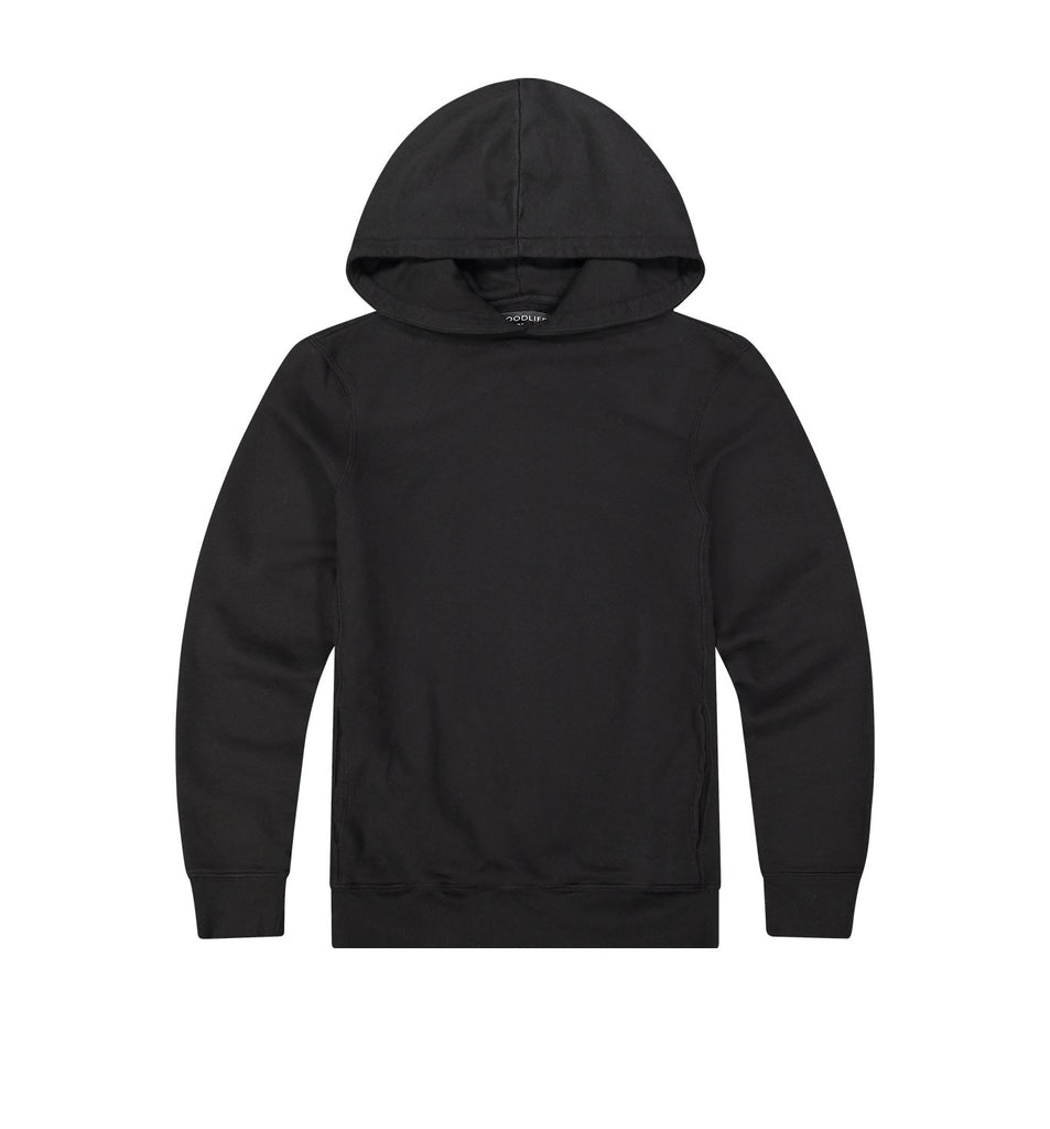 Loop Terry Hoody | Black