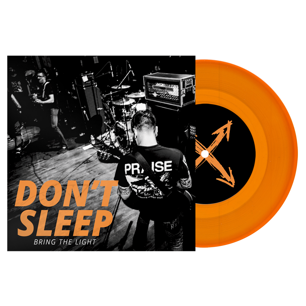 "Don't Sleep ""Bring The Light"" 7"" EP Gold Vinyl"
