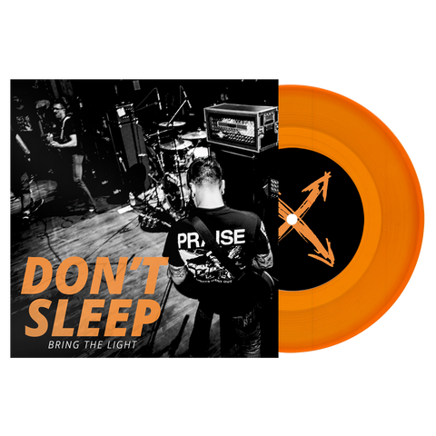 "Copy of Don't Sleep ""Bring The Light"" 7"" EP Gold Vinyl"