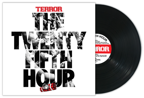 "Terror ""The 25th Hour"" LP - Black Vinyl"