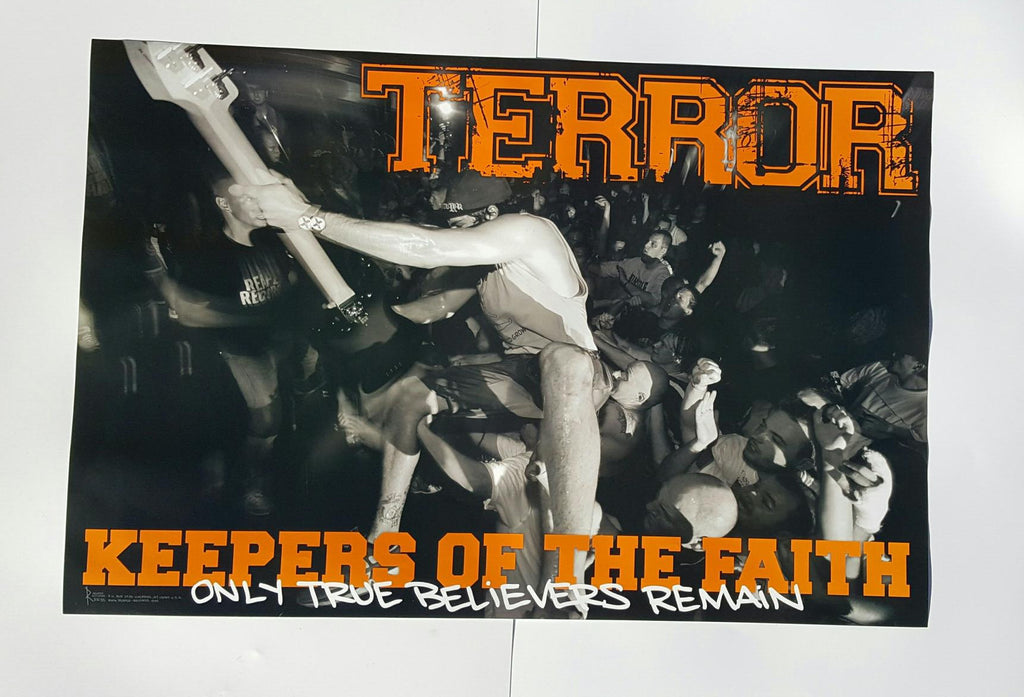 Terror Keepers Of The Faith - Big Poster