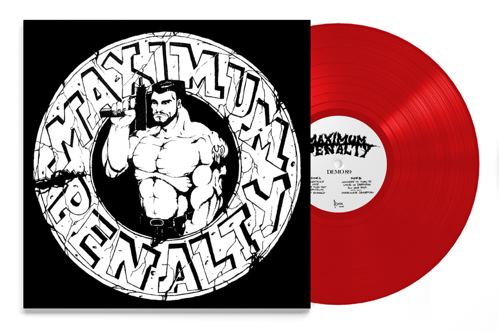 "Maximum Penalty - ""Demo 89"" Gatefold LP"