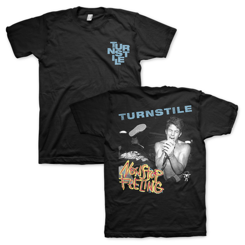 "Turnstile ""Nonstop Feeling"" Cover Tee"