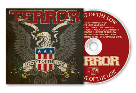 "Terror ""Lowest Of The Low"" CD Reissue w/ Bonus Material"