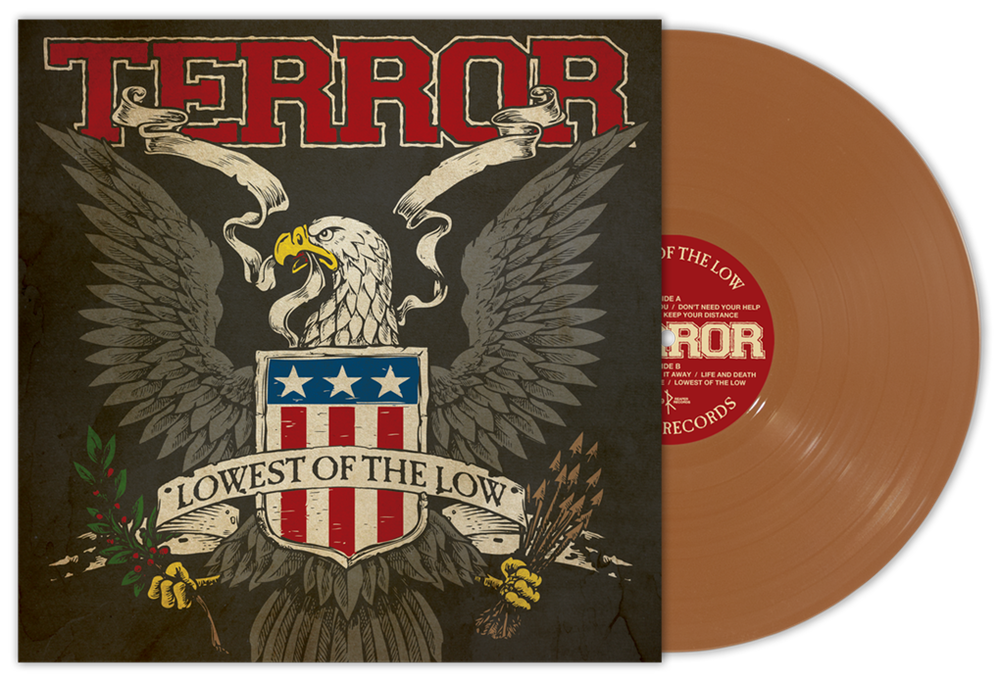 "Terror ""Lowest Of The Low"" LP Reissue Bronze Vinyl"
