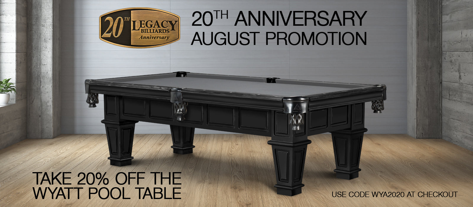 August 2020 Monthly Promotion