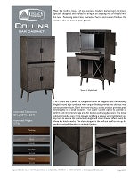 Collins Bar Cabinet Spec Sheet