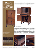 Harpeth Bar Cabinet Spec Sheet