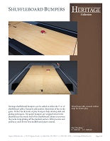 Heritage Gutter Bumpers Spec Sheet
