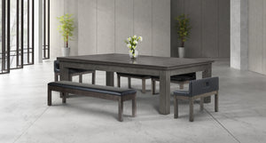 Baylor II 7 Ft Pool Table Dining Collection - Modern Series