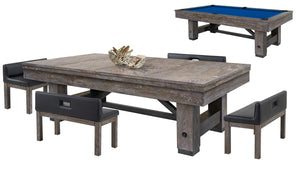 Cimarron 8 Ft Pool Table Dining Collection