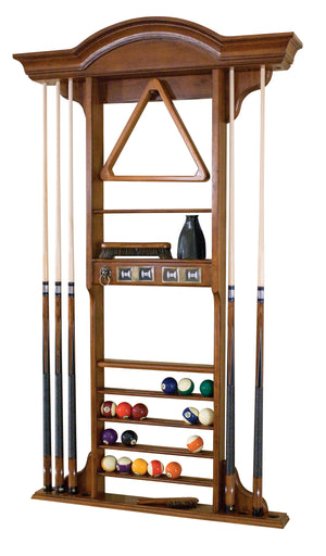 Classic Wall Cue Rack