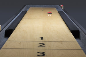 Shuffleboard Gutter Bumpers for Heritage Brand 9 Ft Shuffleboards