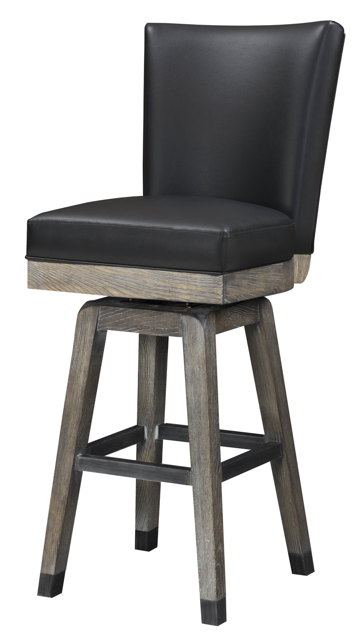 Rustic Backed Barstool