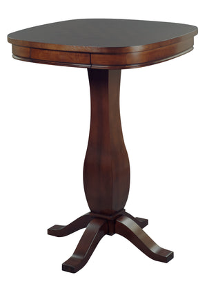 Signature Pub Table with Chess Inlay