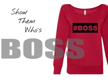 boss word clothing women