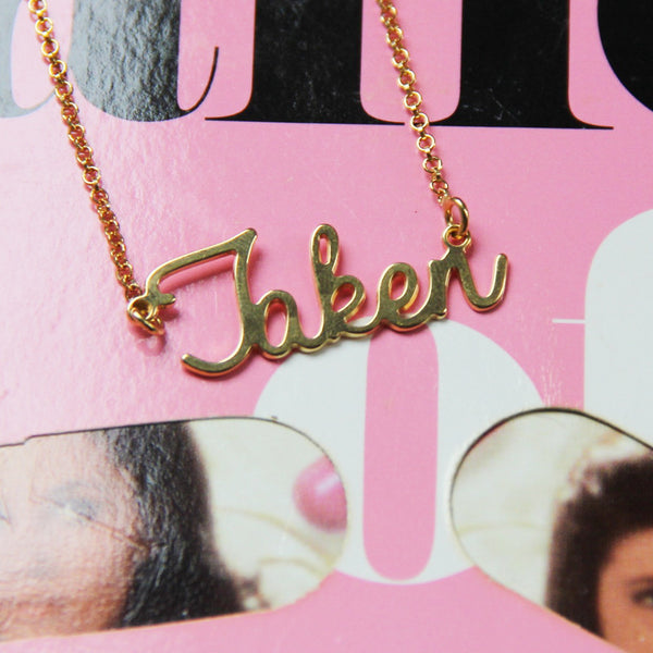 Yes, I'm TAKEN Necklace