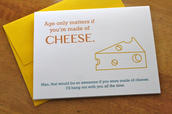 humor thinking of you card