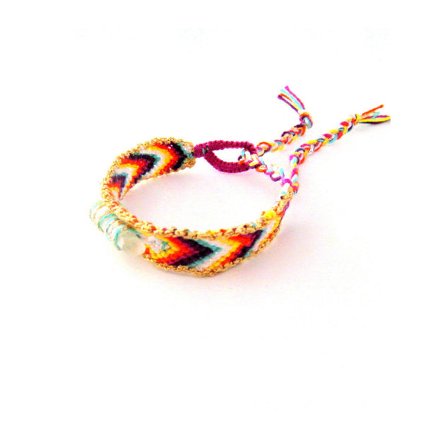 crystal friendship bracelet