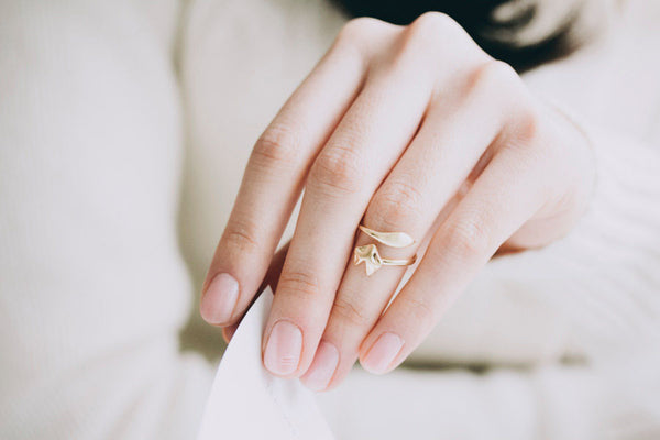 delicate animal ring