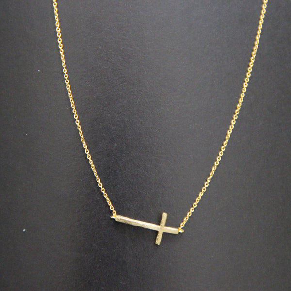 cheap gold cross necklace