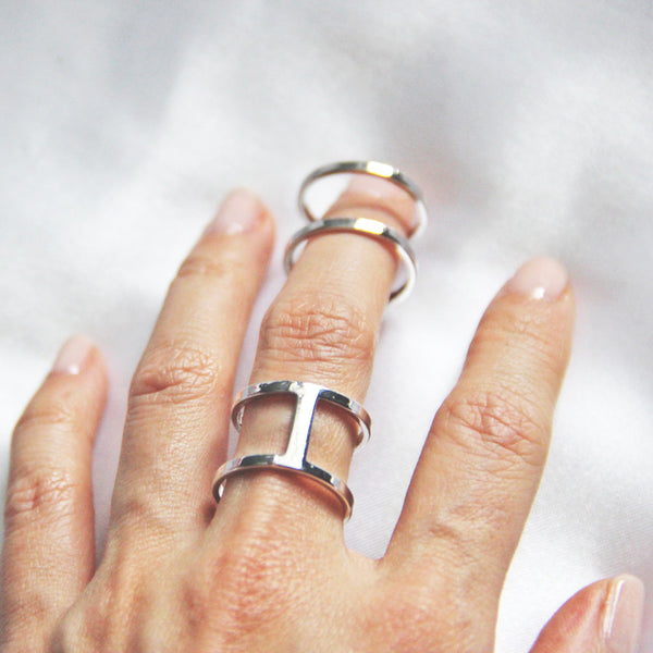 silver womens rings