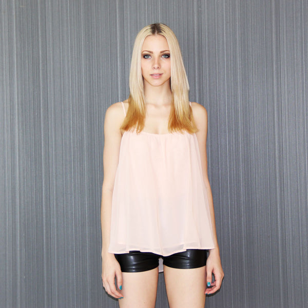 Cascade Pale Pink Camisole