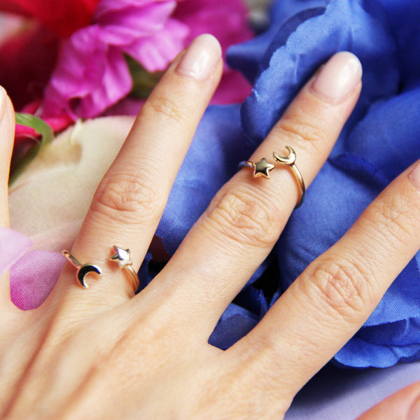Fault in Our Stars Small Finger & Knuckle Ring