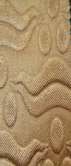 Hurrem Bronze Vinyl Leather Upholstery Fabric