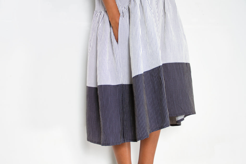 Going Stripe Dress by Henrik
