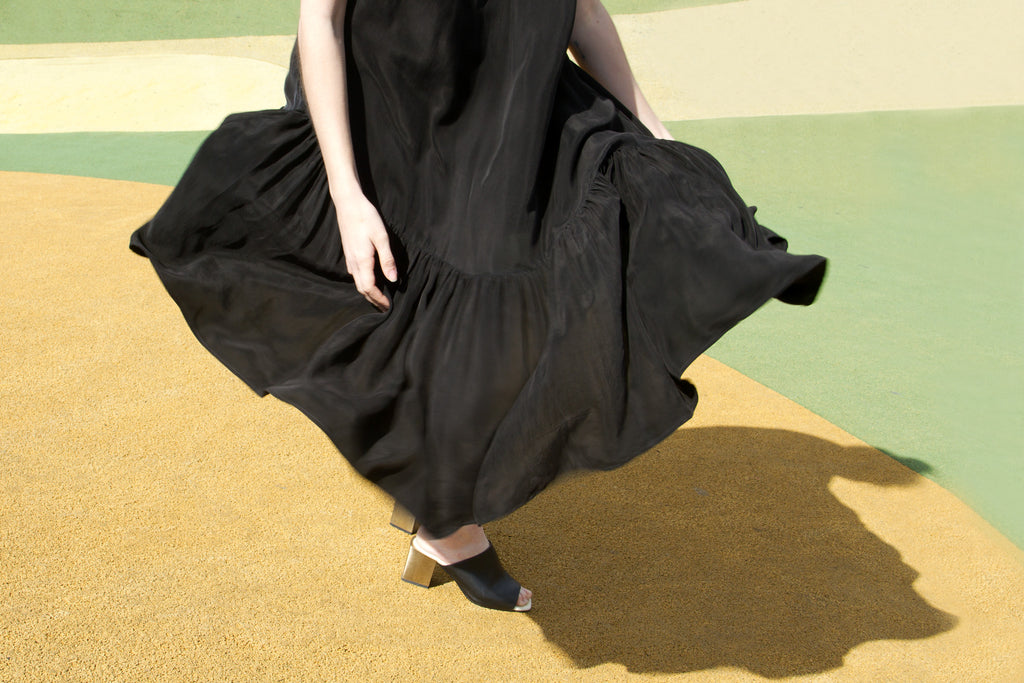 Skewed Gown by Portland Garment Factory