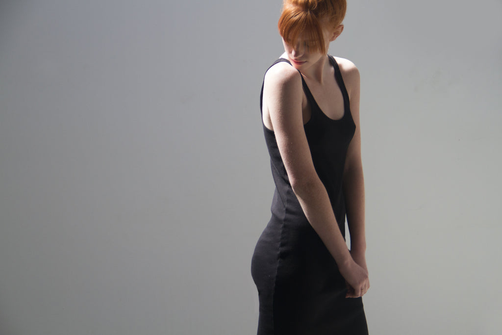 Black Tank Dress by Skin