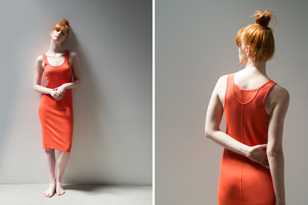 Red Tank Dress by Skin