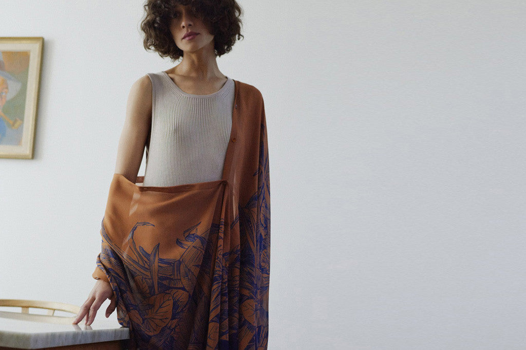 Rodebjer Pre-Fall inspired by Jane Goodall