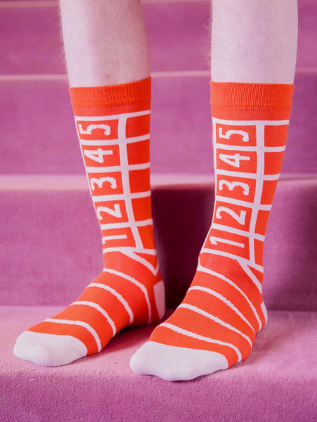 Track Socks - Orange by Henrik Vibskov