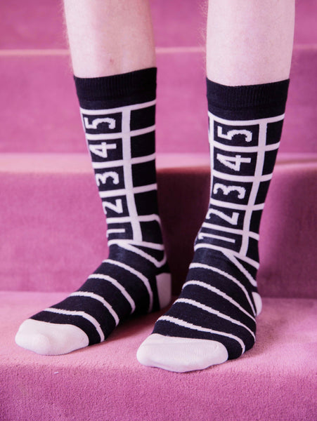 Track Socks - Black by Henrik Vibskov