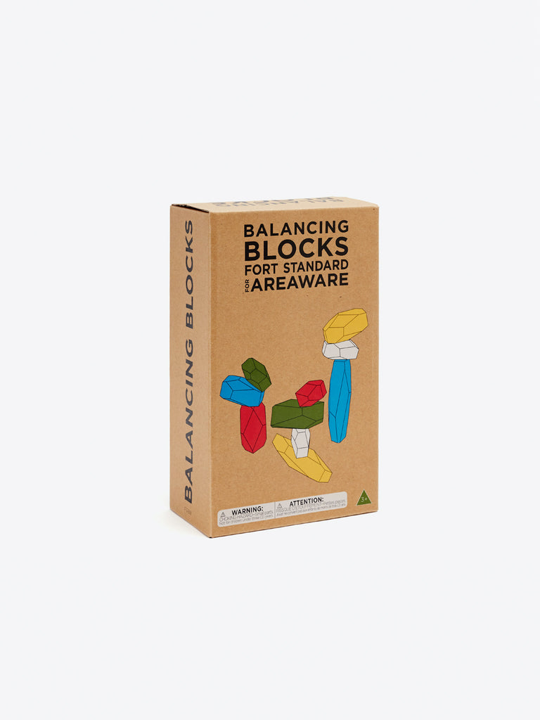 Balancing Blocks - Mutlicolor by Areaware