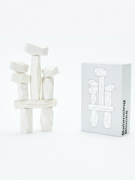 Balancing Blocks - White by Areaware