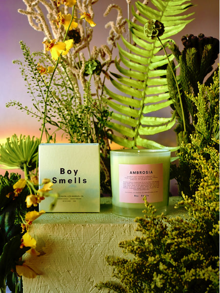 Ambrosia Candle by Boy Smells