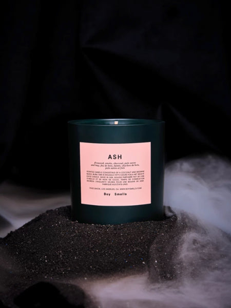 Holiday Ash Candle by Boy Smells