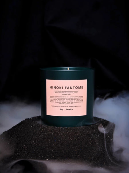 Holiday Hinoki Fantôme Candle by Boy Smells