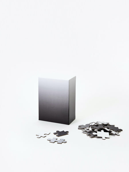 Small Gradient Puzzle - Black & White by Areaware
