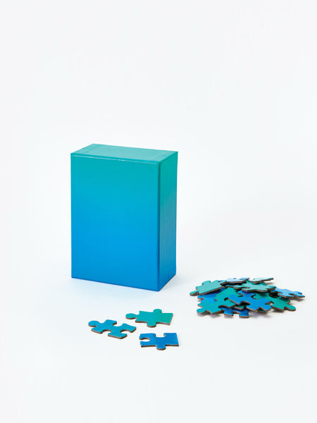 Gradient Puzzle - Blue & Green by Areaware